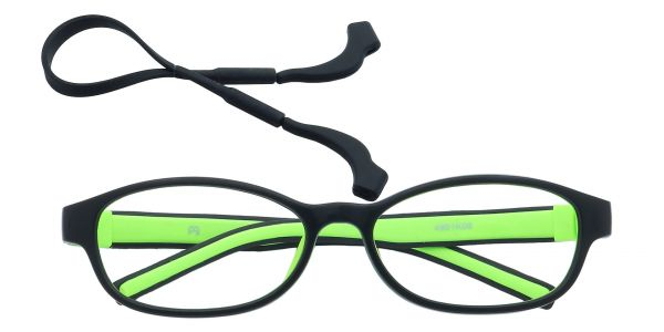 Moxie Oval Eyeglasses For Kids