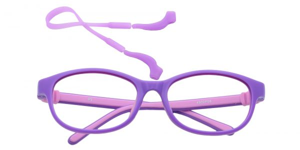 Breezy Oval Eyeglasses For Kids