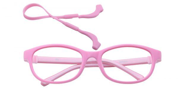 Breezy Oval Eyeglasses For Kids