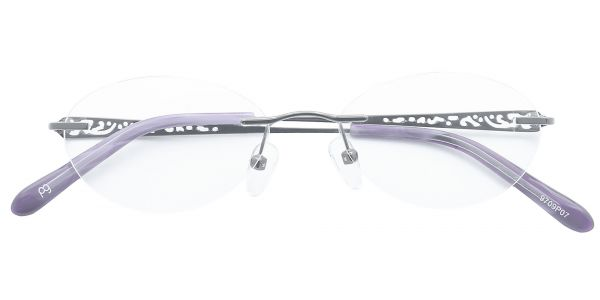 Christina Rimless eyeglasses