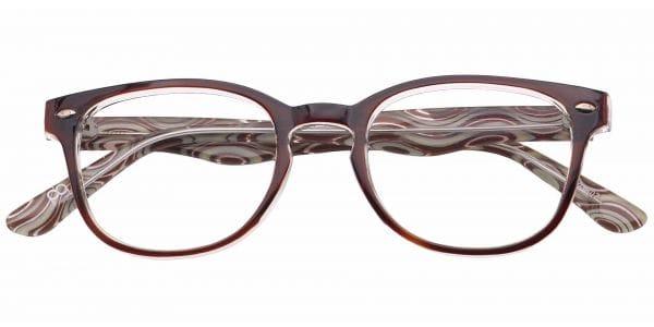 Swirl Rectangle eyeglasses