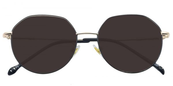 Wesley Round Men's Prescription Sunglasses