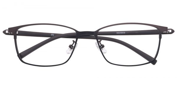 Bergen Rectangle Eyeglasses For Men