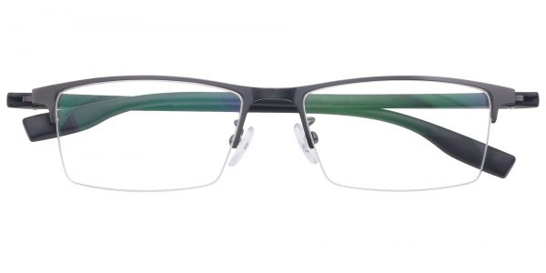 Ash Rectangle Eyeglasses For Men