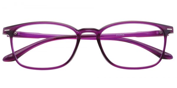 Cabo Oval Prescription Glasses - Purple