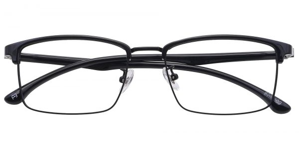 Young Browline Eyeglasses For Men