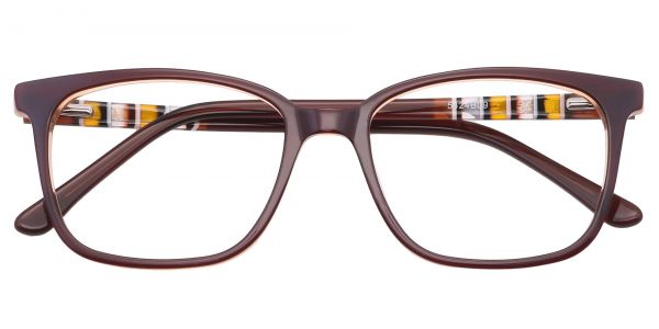 Fern Square eyeglasses