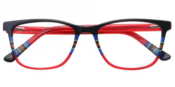 Taffie Oval Eyeglasses For Women
