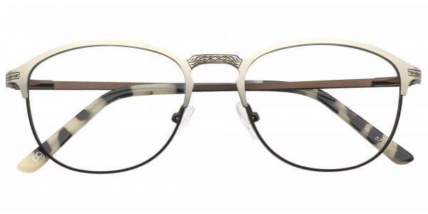 Mari Round eyeglasses