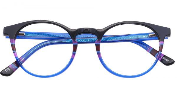 Jellie Round eyeglasses