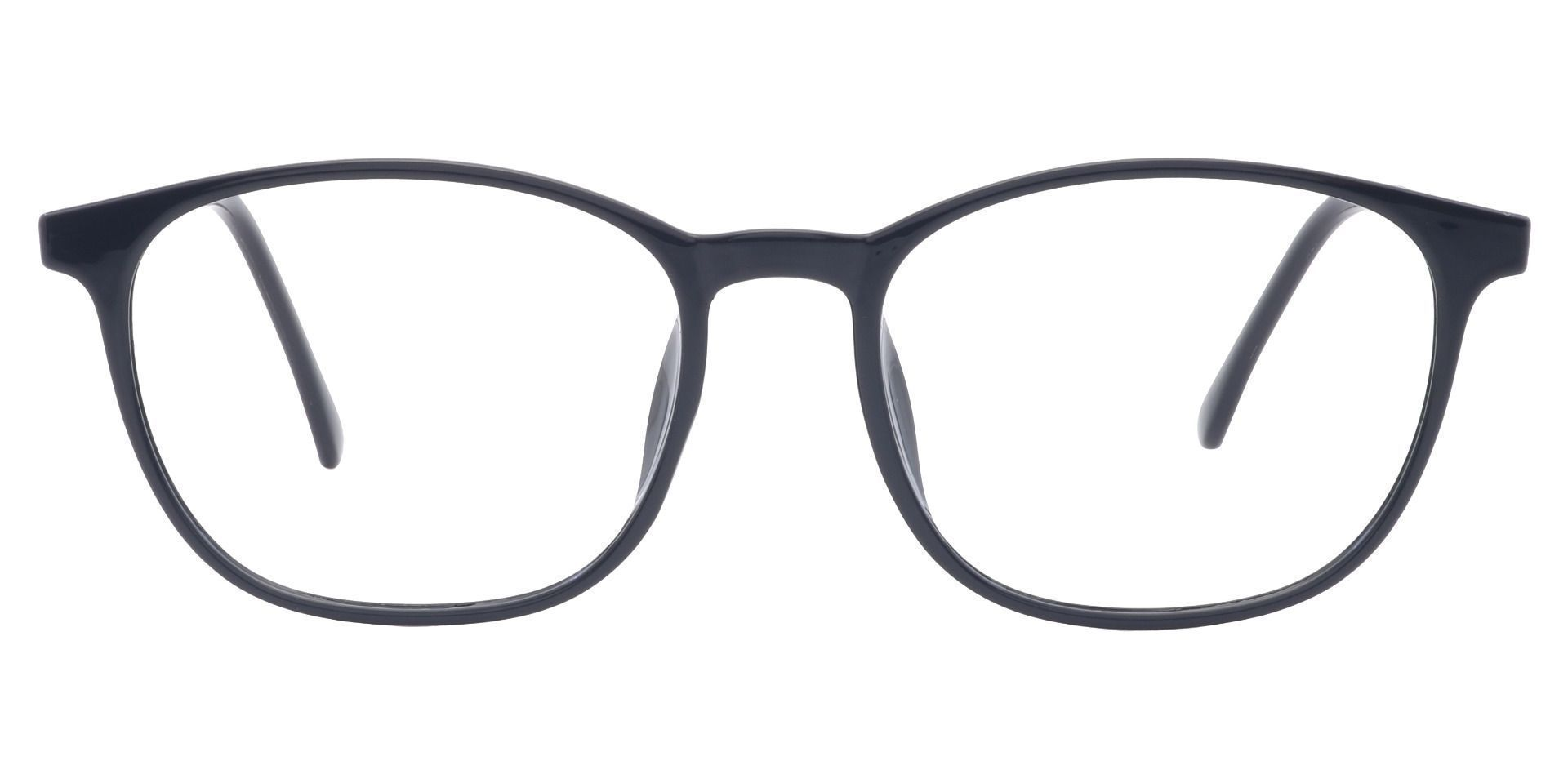 Preston Oval Prescription Glasses - Black