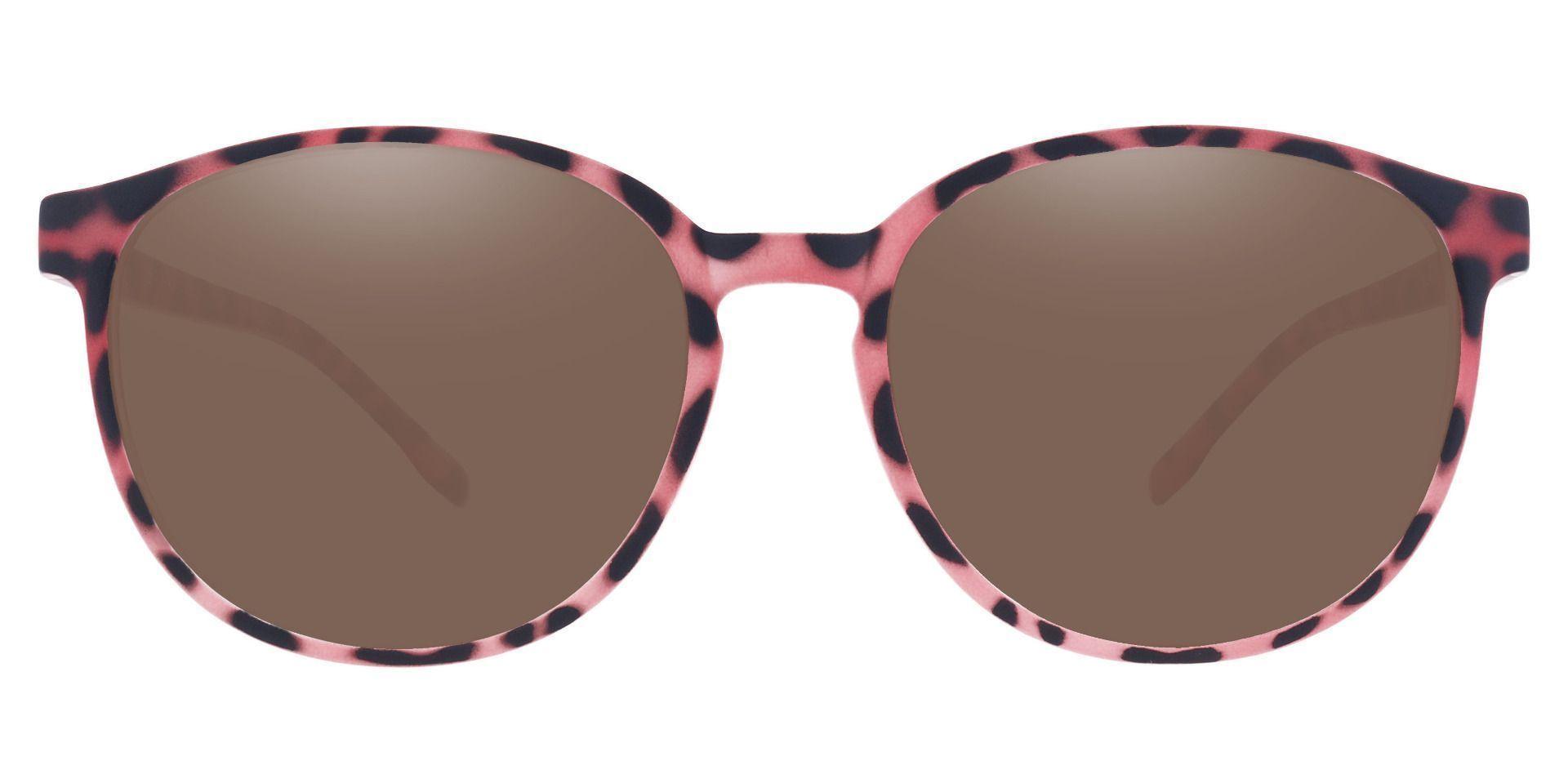 Molasses Oval Prescription Sunglasses - Tortoise Frame With Brown Lenses