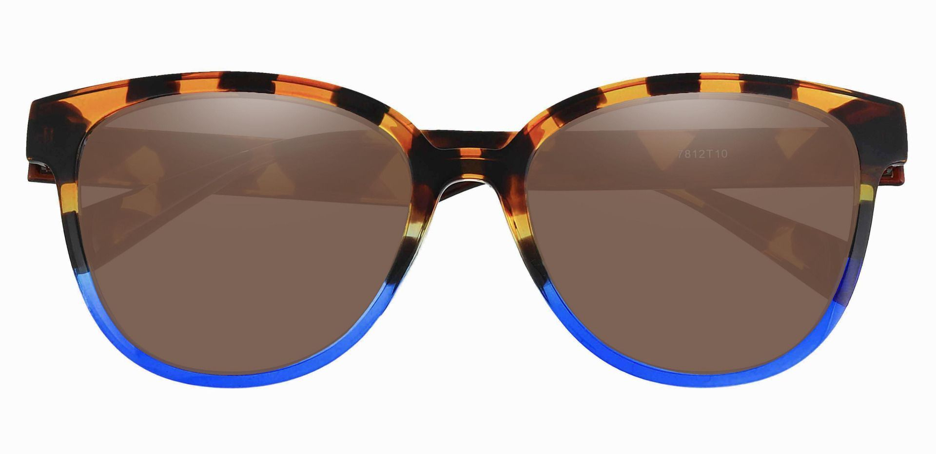 Newport Oval Lined Bifocal Sunglasses - Tortoise Frame With Brown Lenses