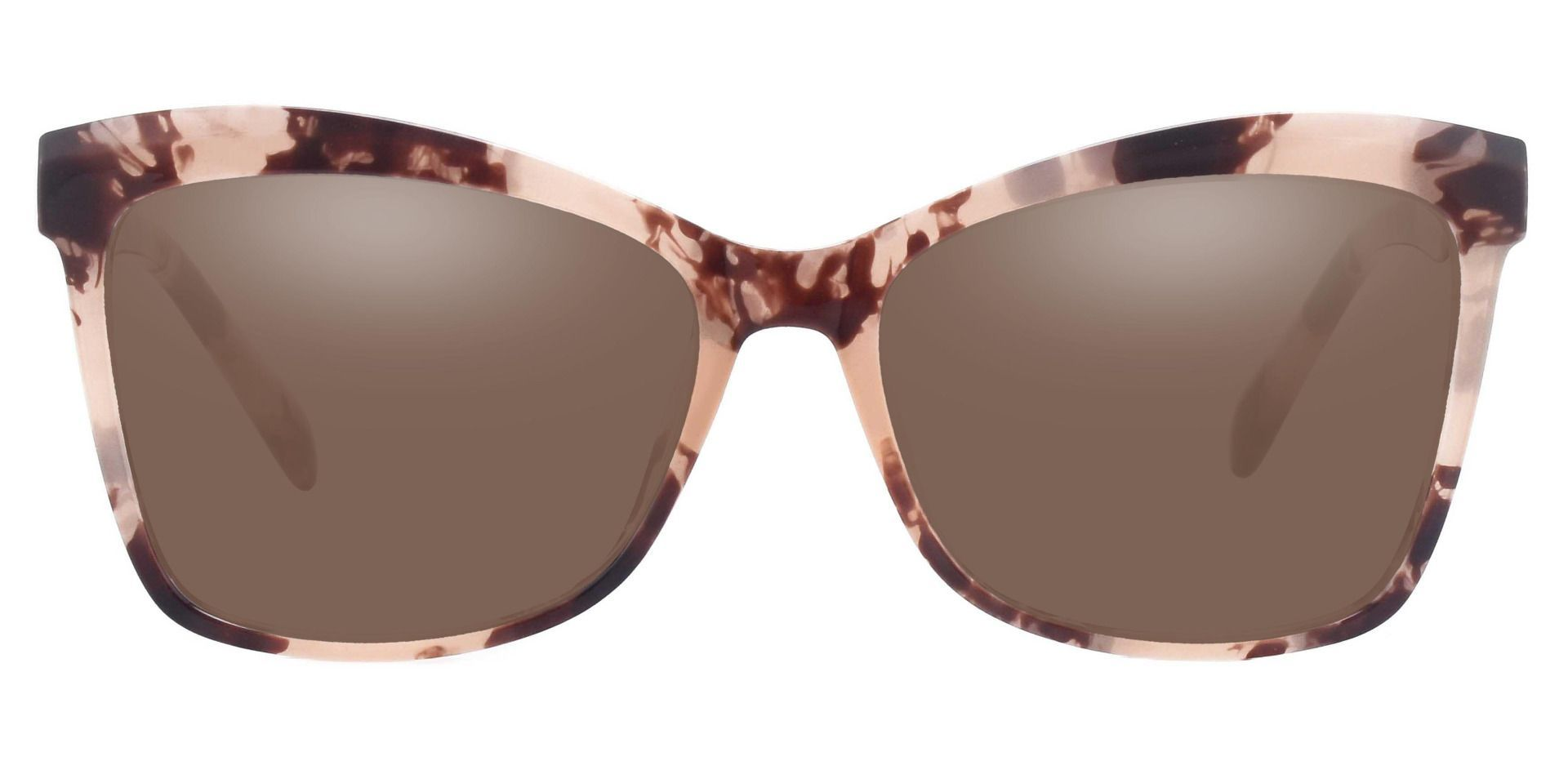 Lexi Cat Eye Non-Rx Sunglasses - Tortoise Frame With Brown Lenses