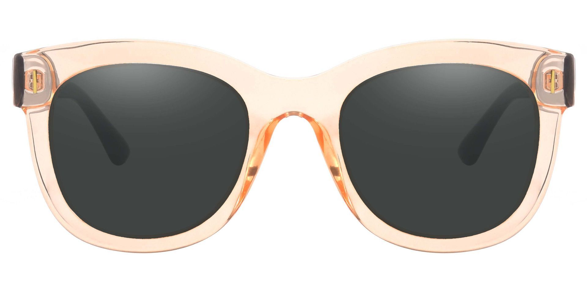 Saratoga Square Reading Sunglasses - Brown Frame With Gray Lenses