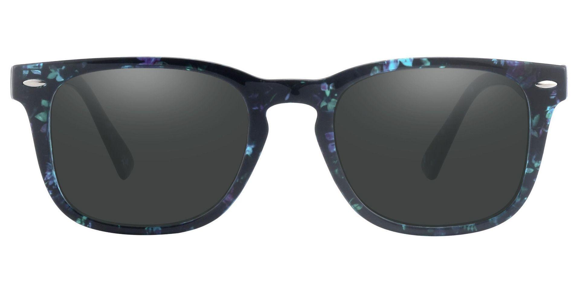 Ontario Square Prescription Sunglasses - Multi Frame With Gray Lenses