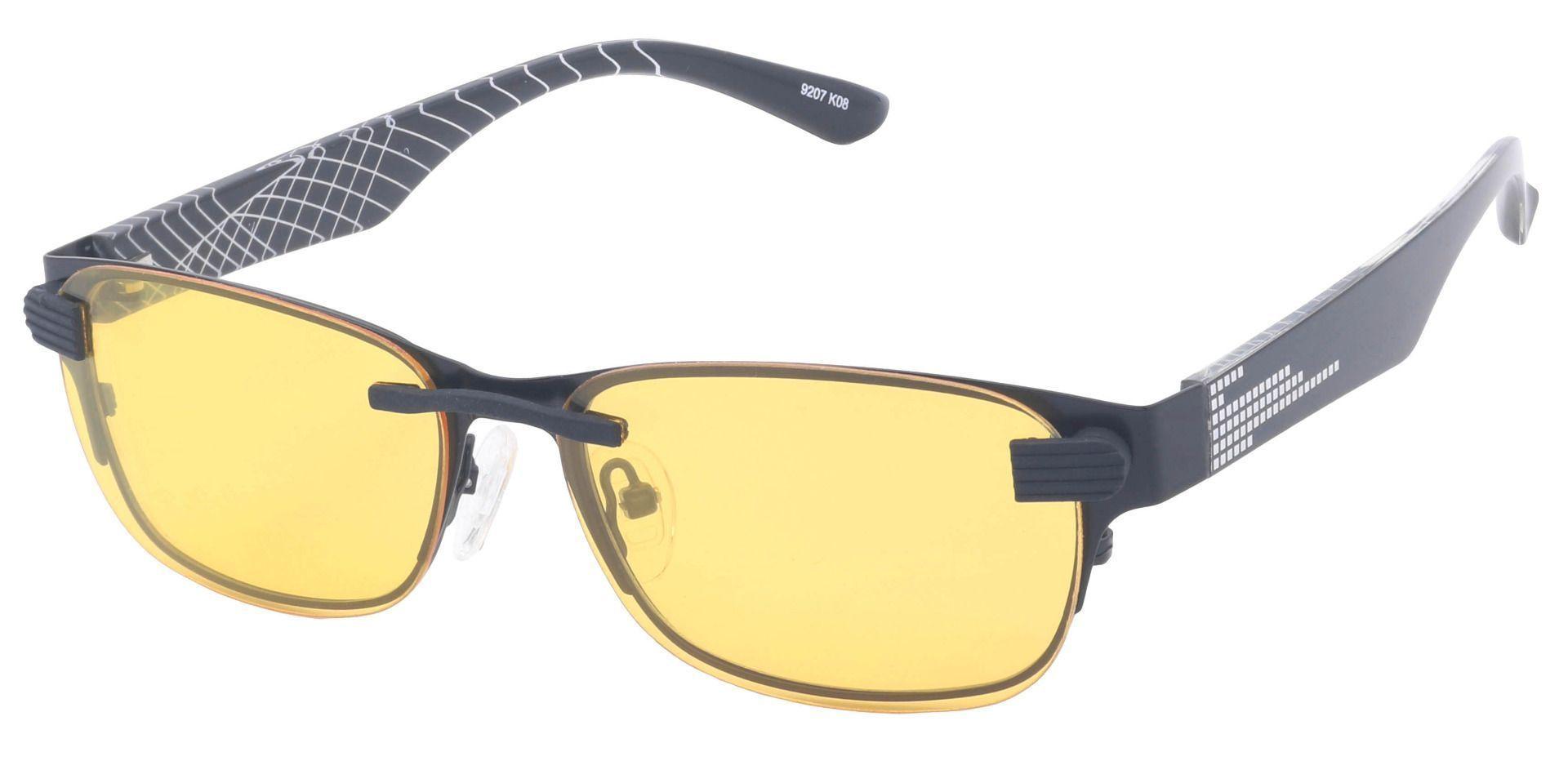 Giuliana Rectangle Prescription Glasses - Black