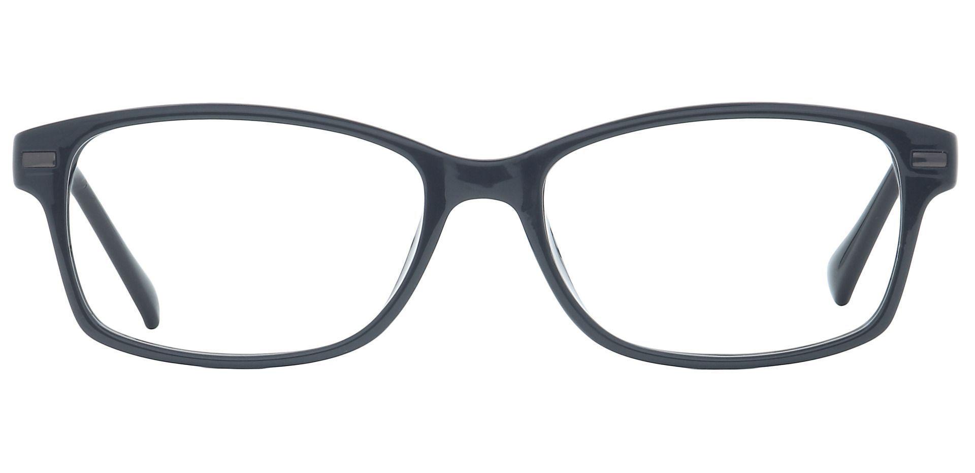 Dixie Rectangle Prescription Glasses - Black