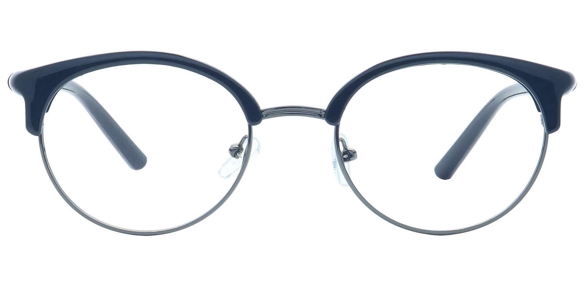 Harper Browline Prescription Glasses - Black