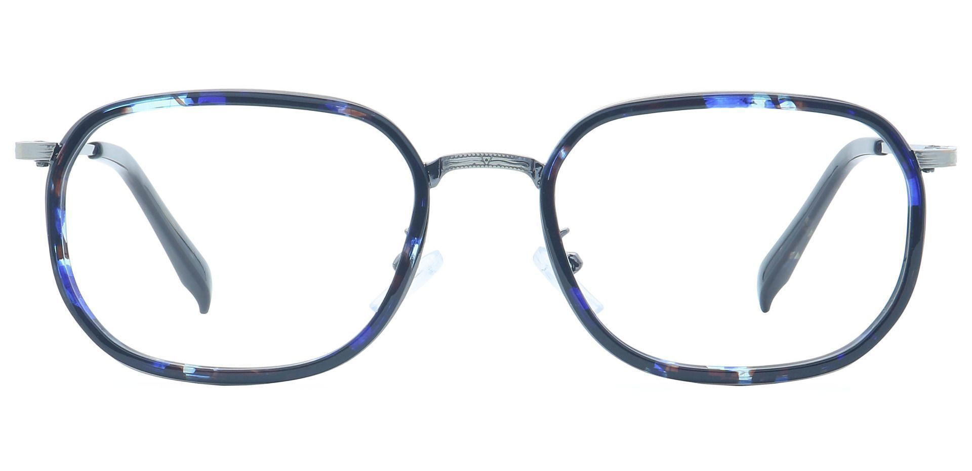 Harlem Oval Reading Glasses - Blue