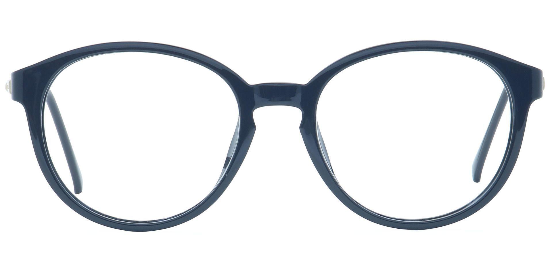 Asia Round Prescription Glasses - Black