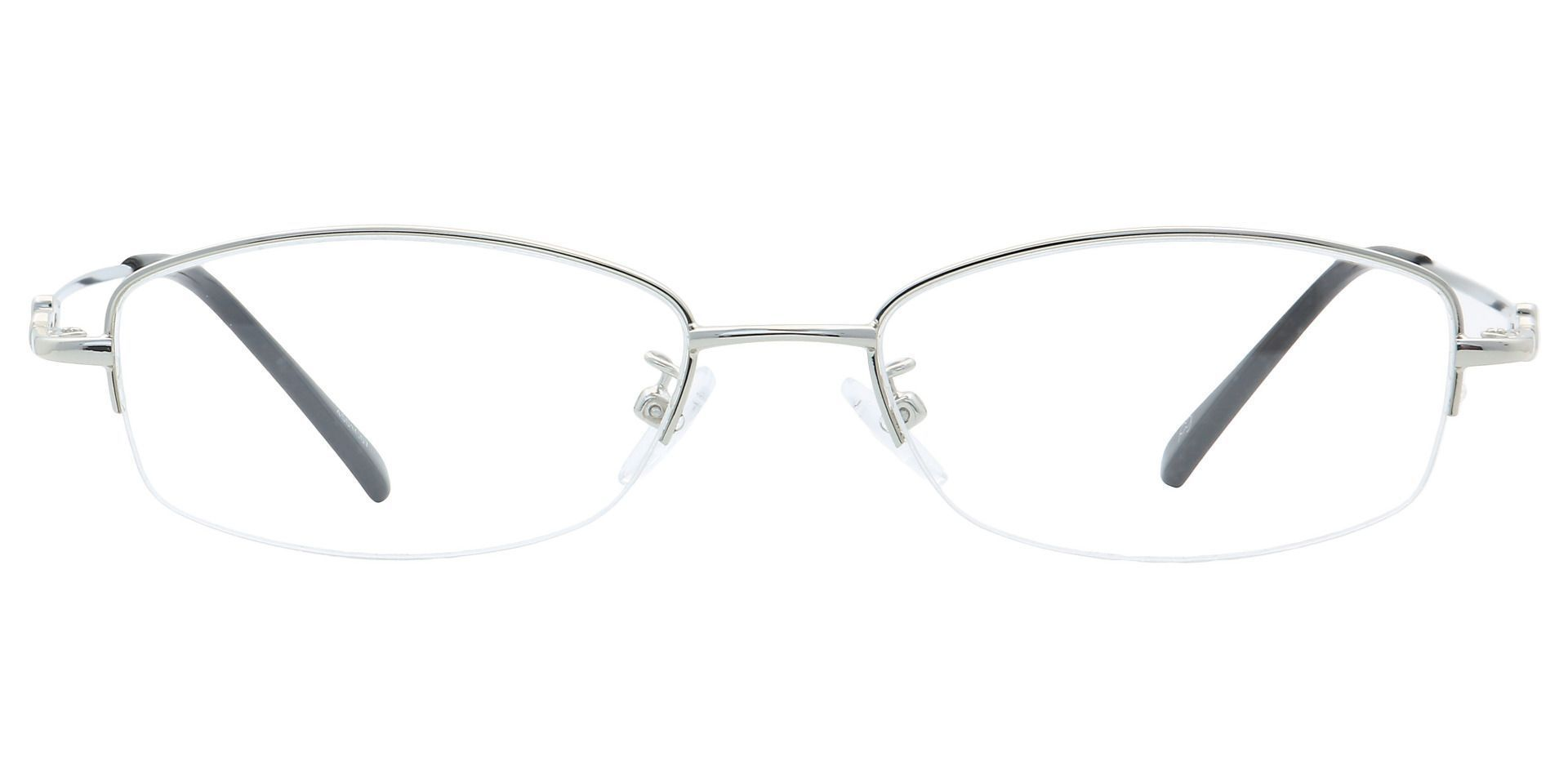 Meadowsweet Oval Eyeglasses Frame - Clear