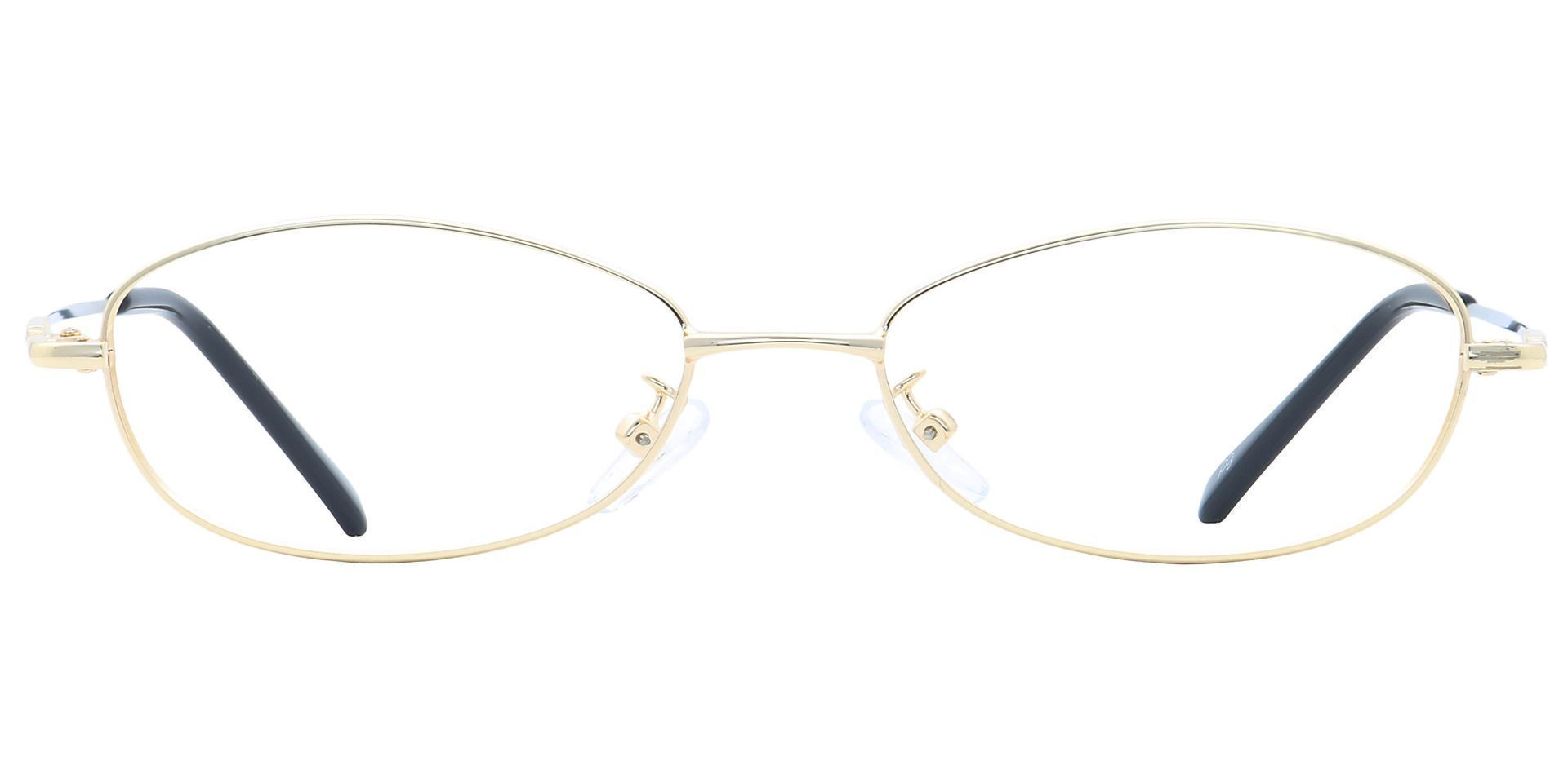 Coronation Oval Reading Glasses - Yellow