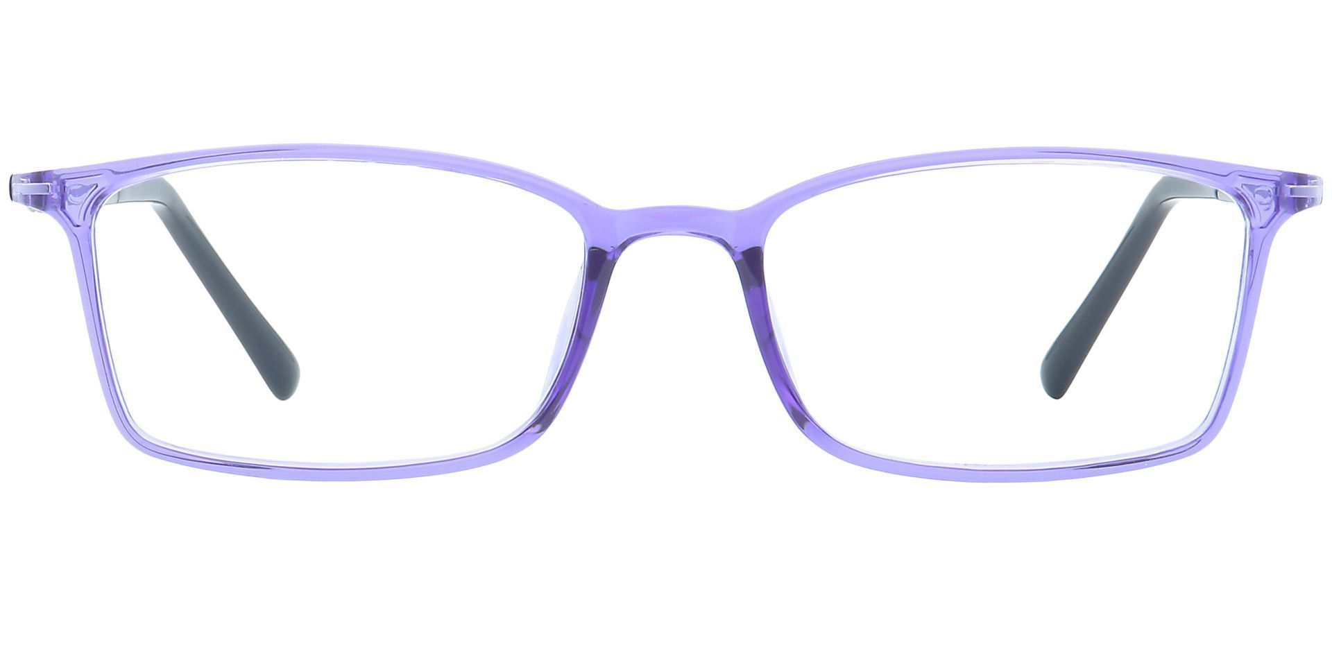 Kai Rectangle Prescription Glasses - Purple