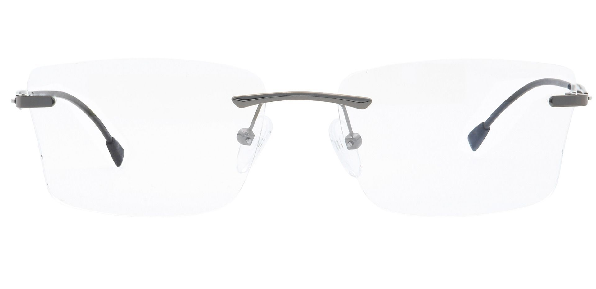 Tristan Rimless Lined Bifocal Glasses - Clear