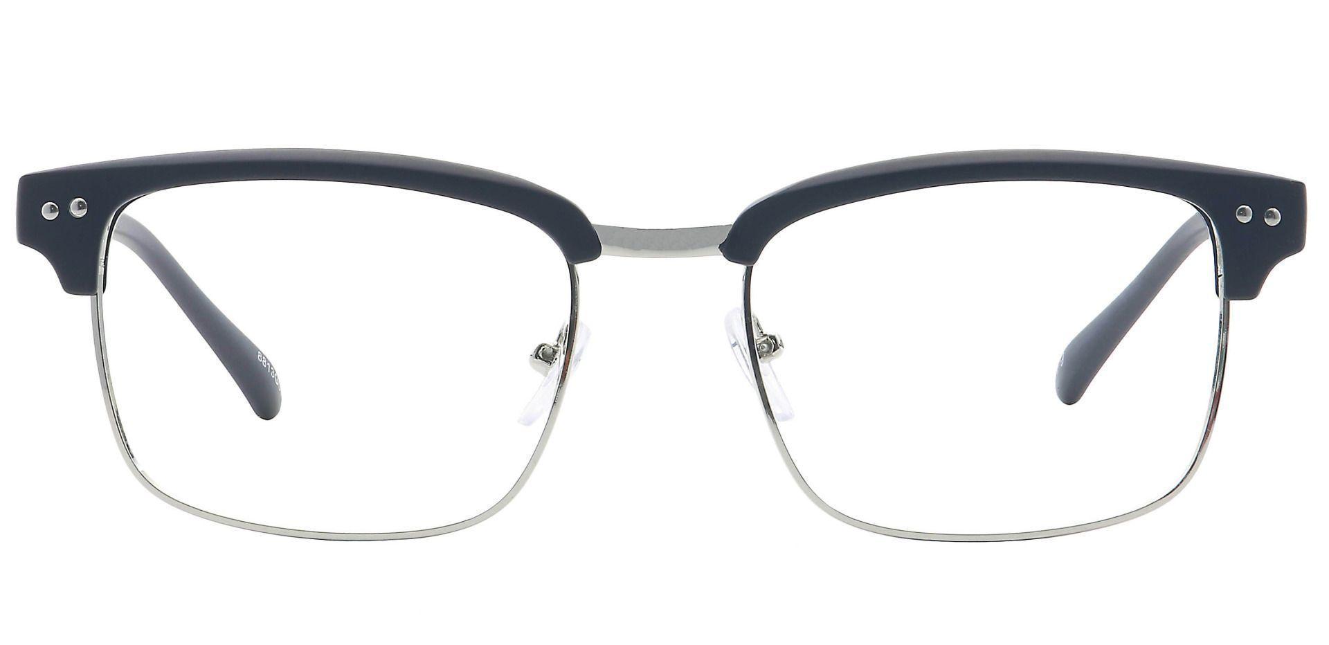 Prestige Browline Eyeglasses Frame - Gray