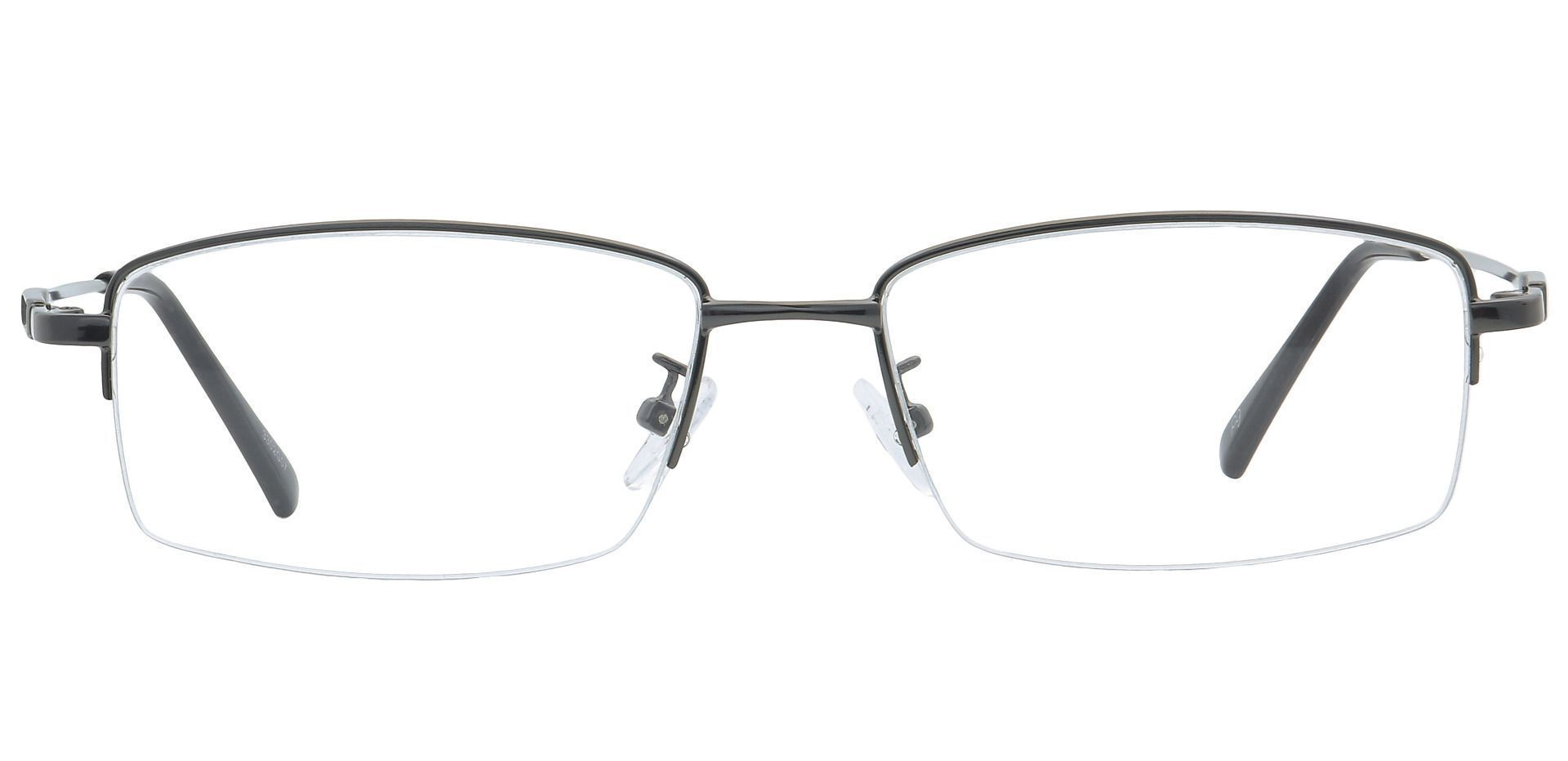 Catalyst Rectangle Reading Glasses -  Gunmetal