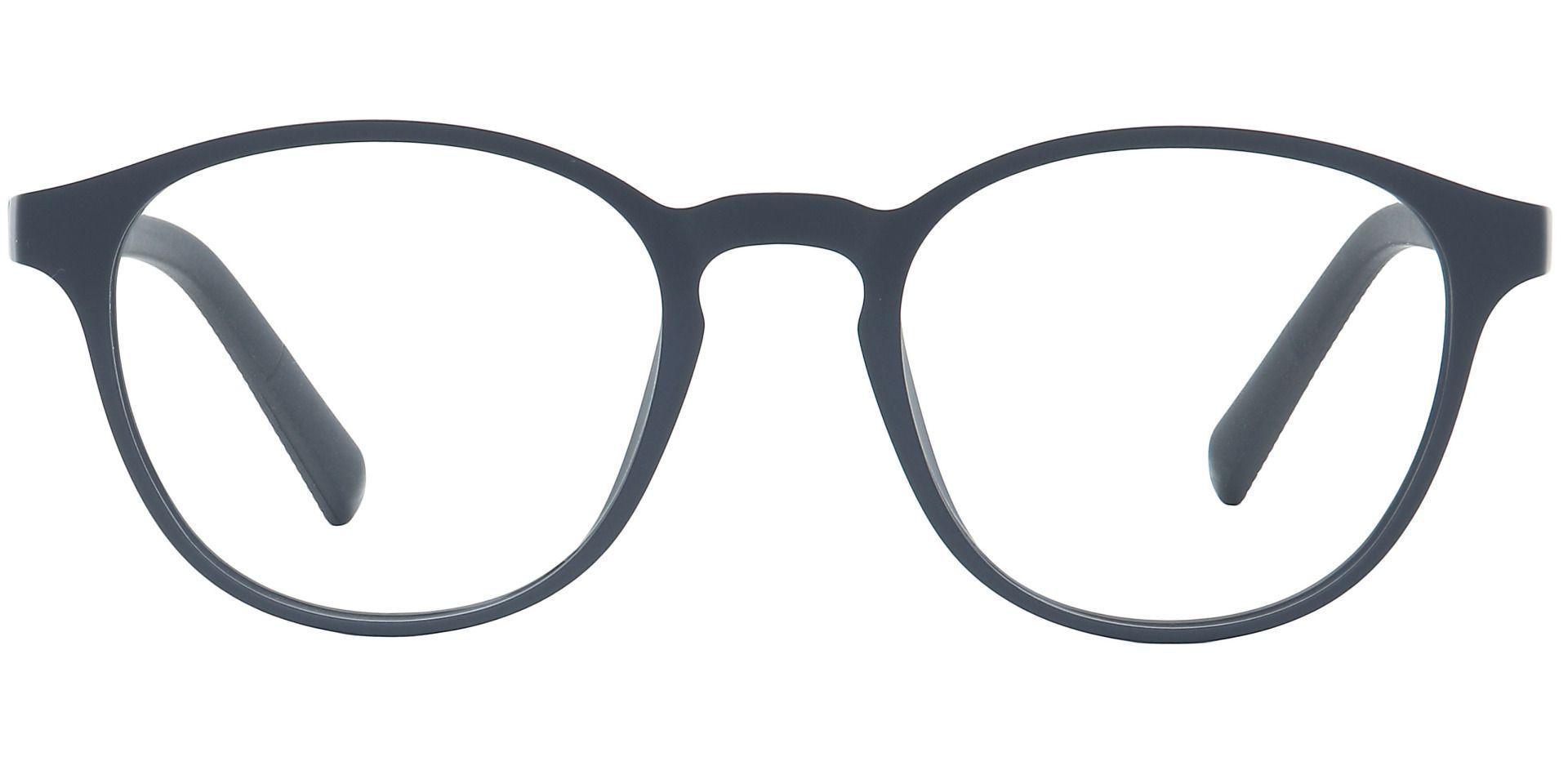 Flex Round Prescription Glasses - Gray