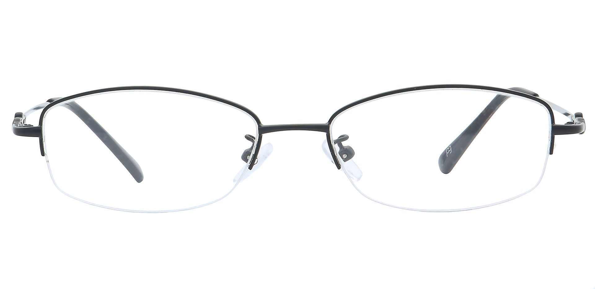 Meadowsweet Oval Prescription Glasses - Black