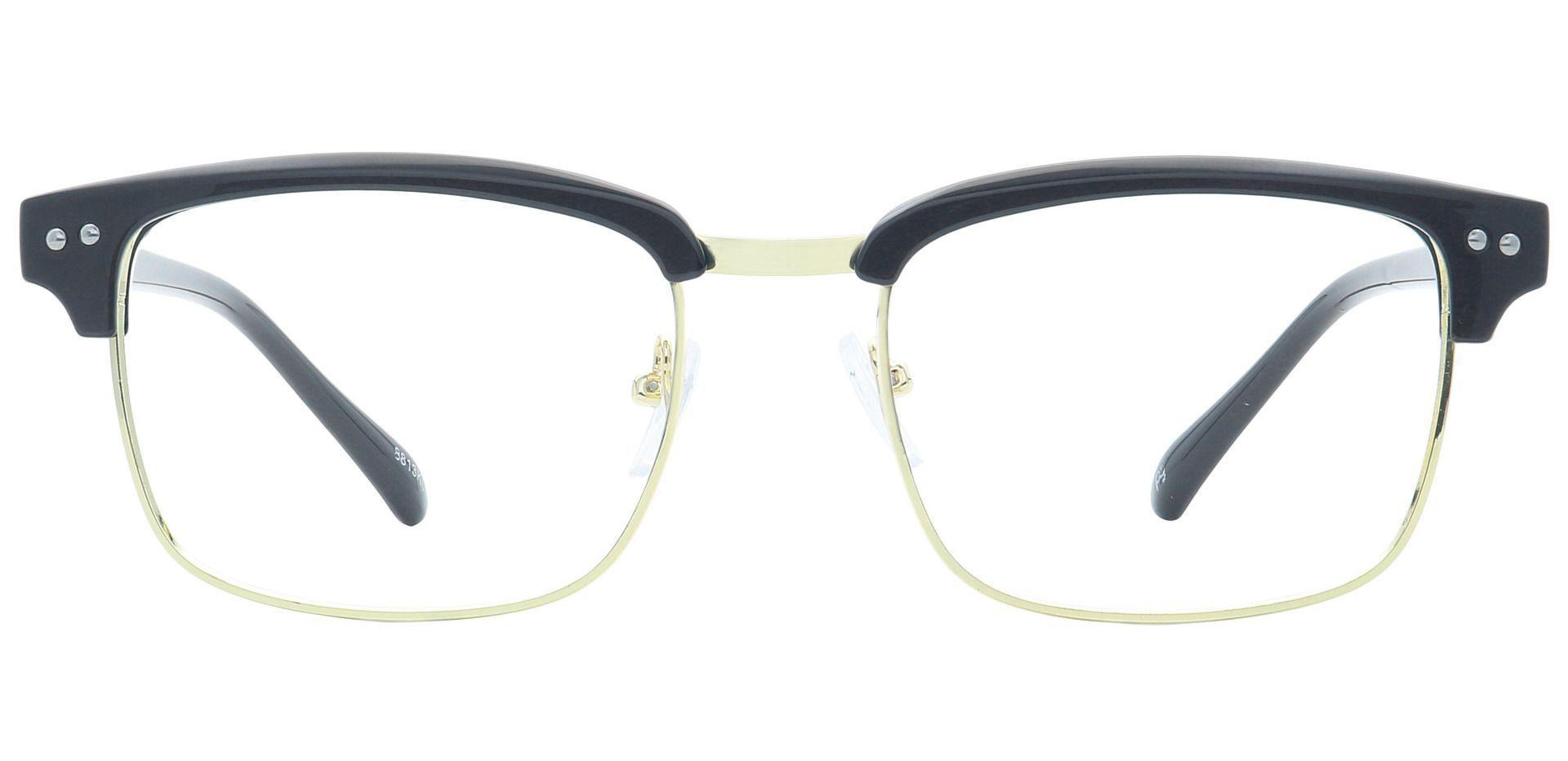 Prestige Browline Prescription Glasses - Black