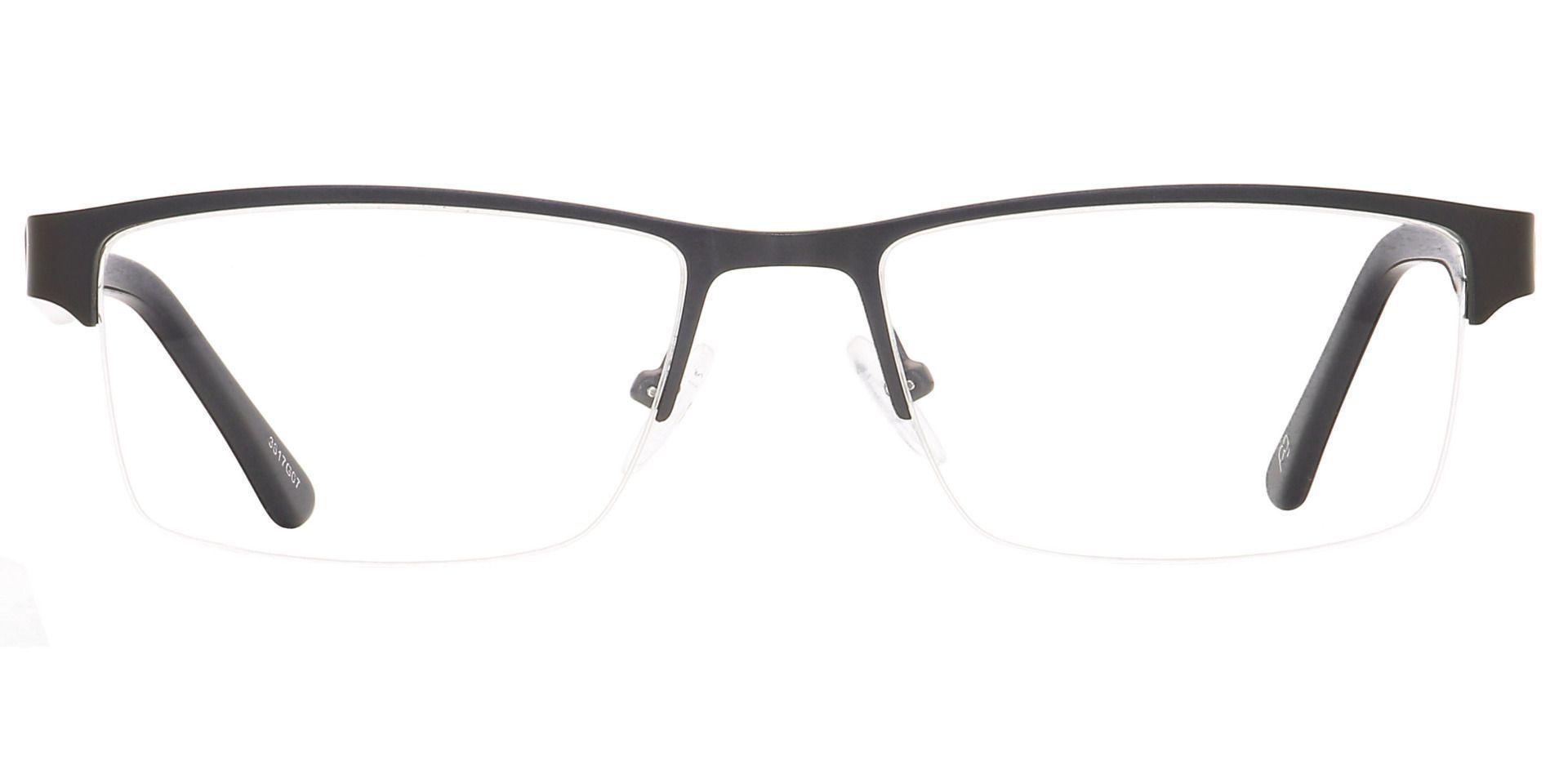 Kerwin Rectangle Lined Bifocal Glasses - Gray