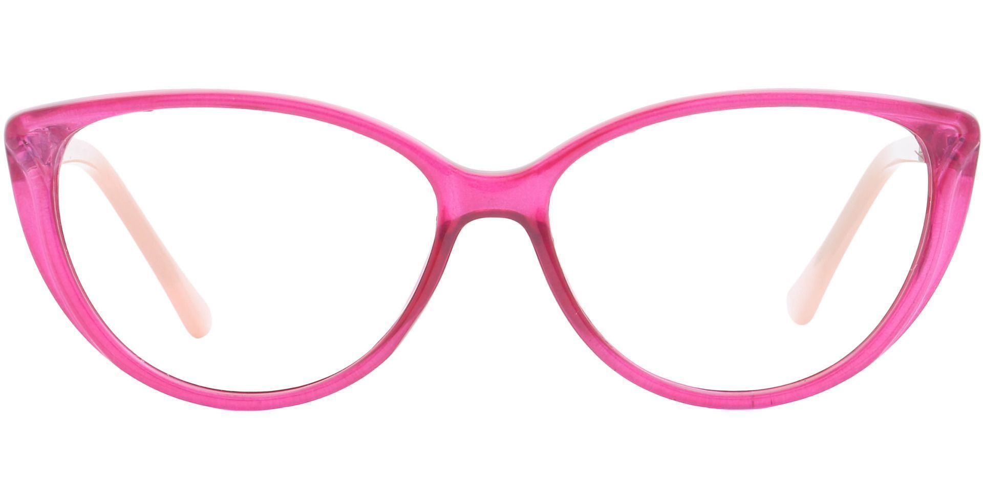 Amore Cat-Eye Progressive Glasses - Pink