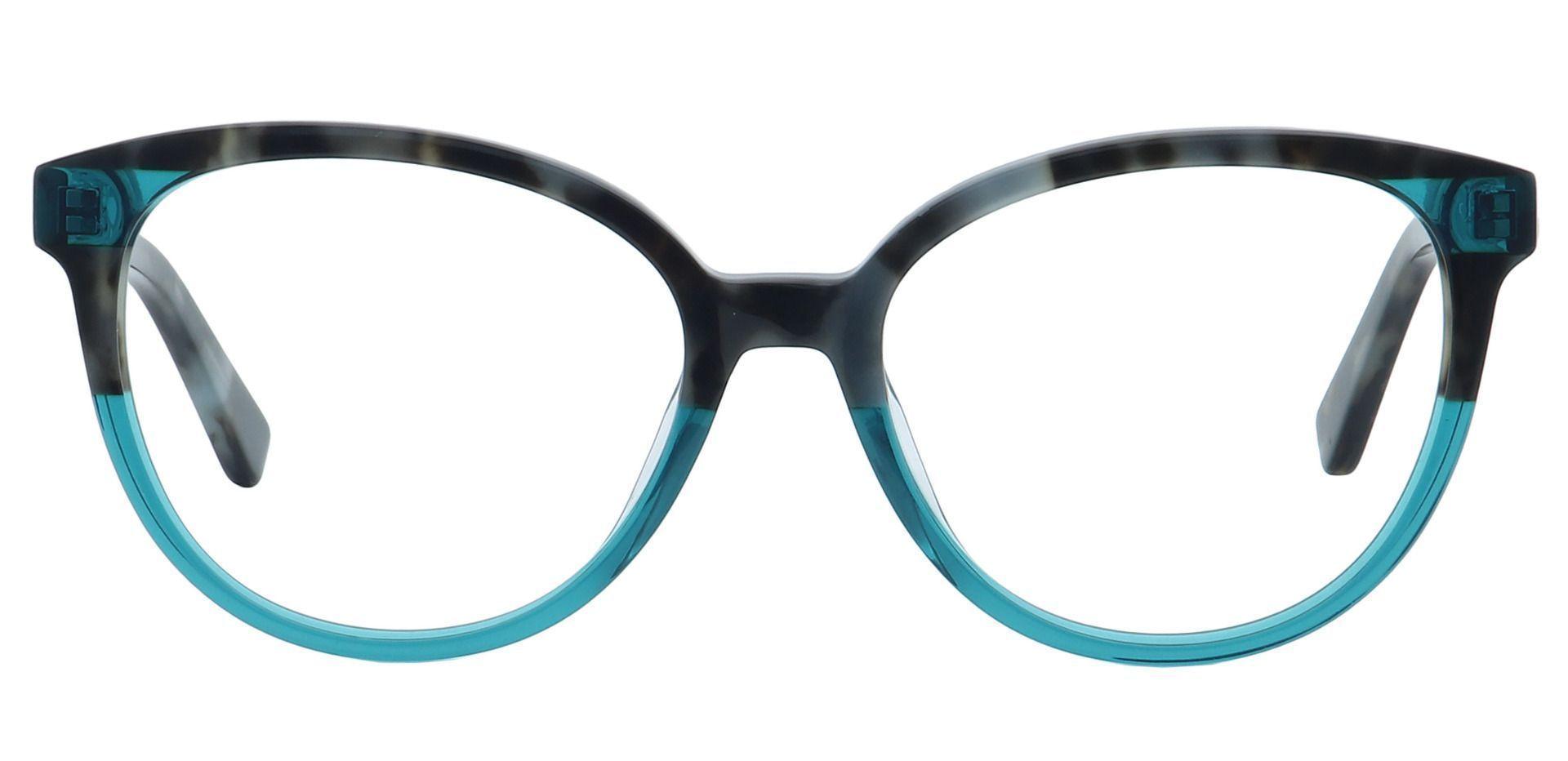 Francesca Oval Prescription Glasses - Gray