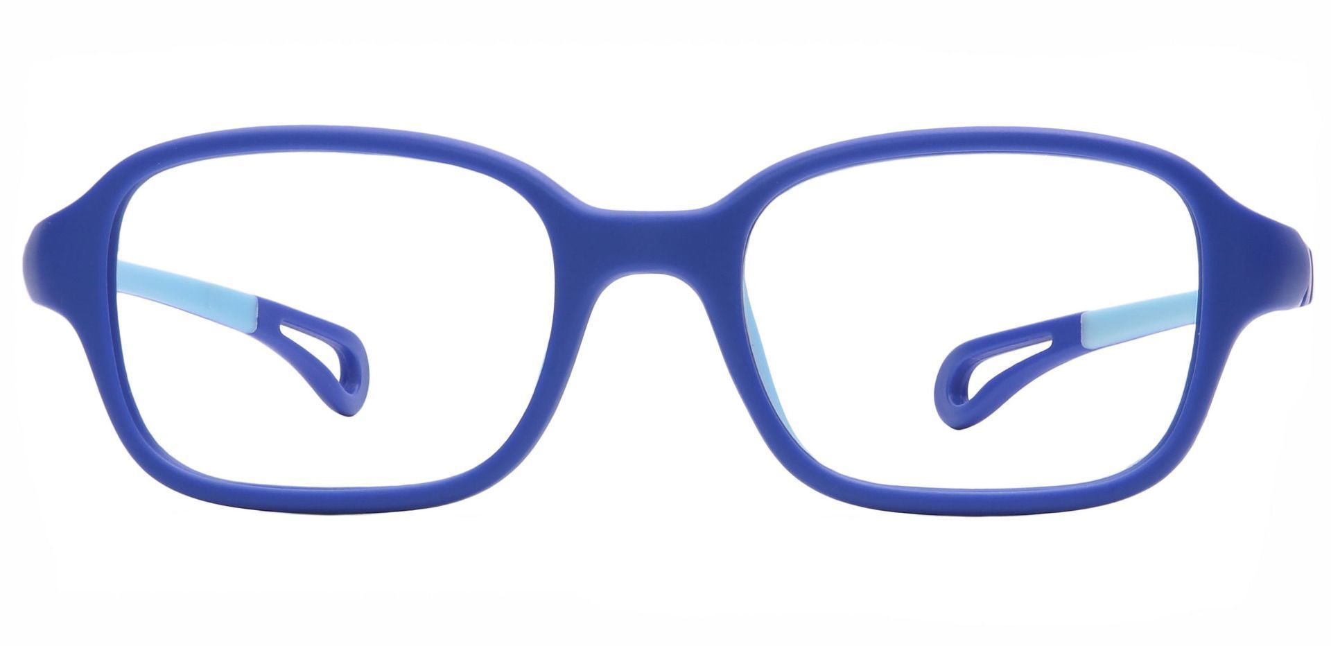 Quirk Oval Non-Rx Glasses - Blue