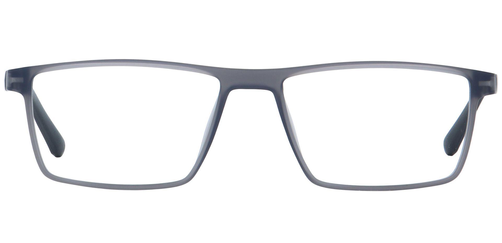 Woolf Rectangle Prescription Glasses - Gray
