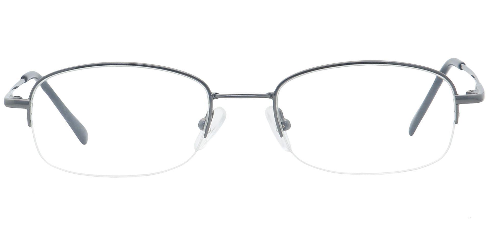 Juniper Oval Progressive Glasses - Gray