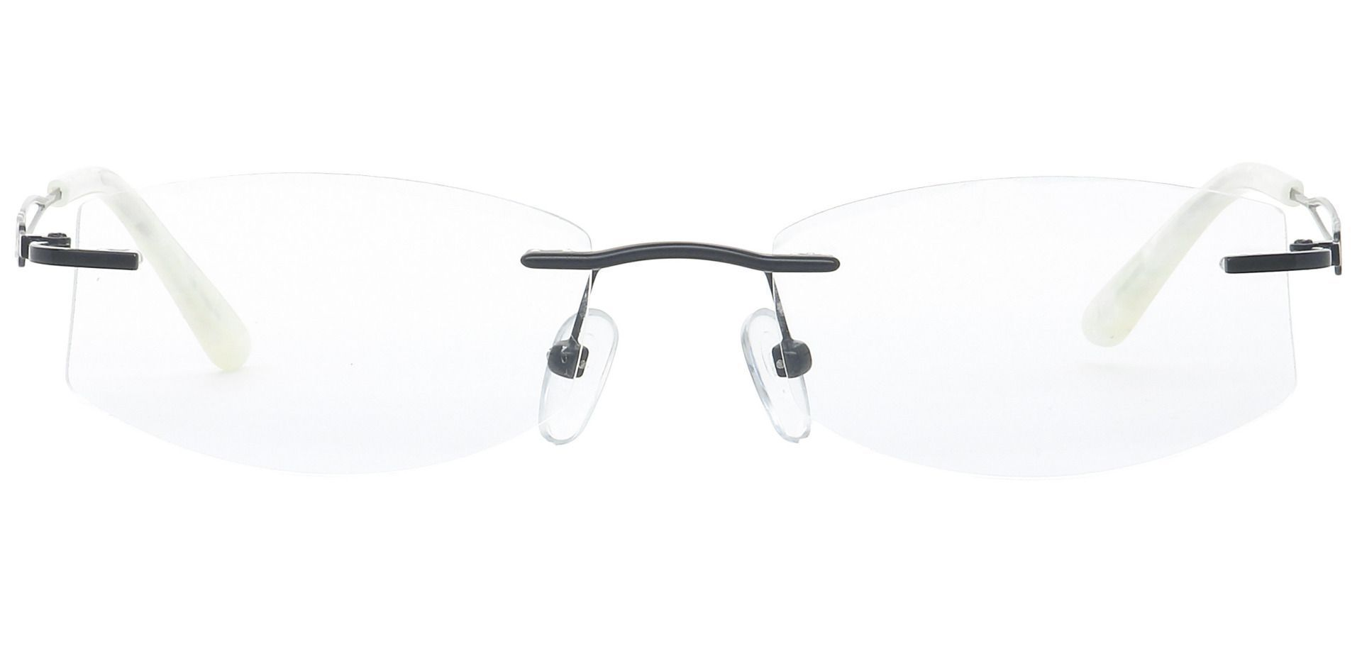 Jada Rimless Progressive Glasses - Black