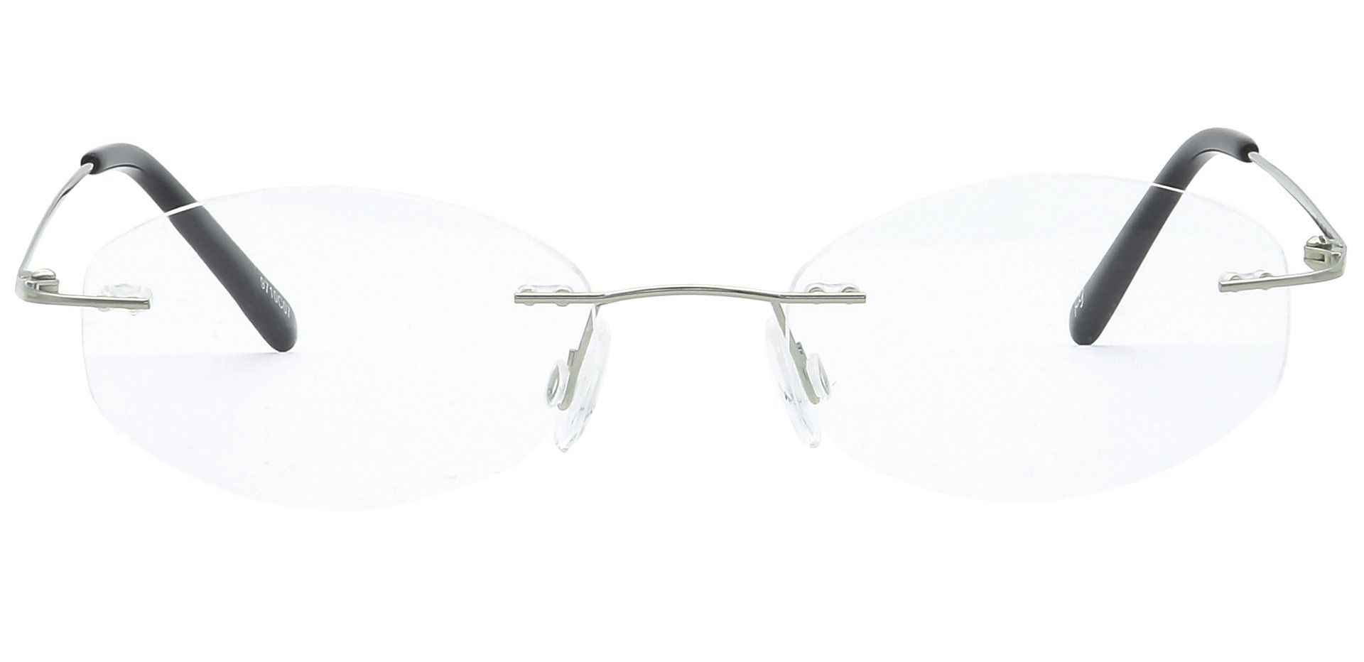 Abigail Rimless Progressive Glasses - Clear