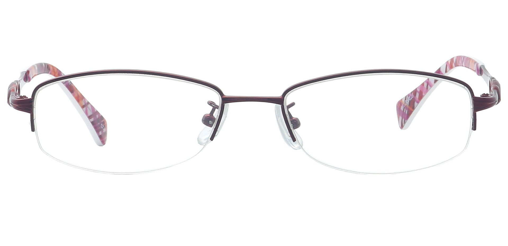 Deana Rectangle Reading Glasses - Red