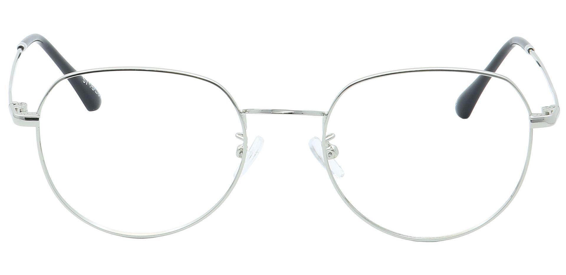 Maren Round Eyeglasses Frame - Clear