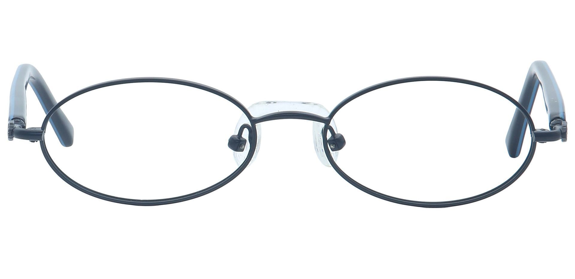 Rory Oval Eyeglasses Frame - Black