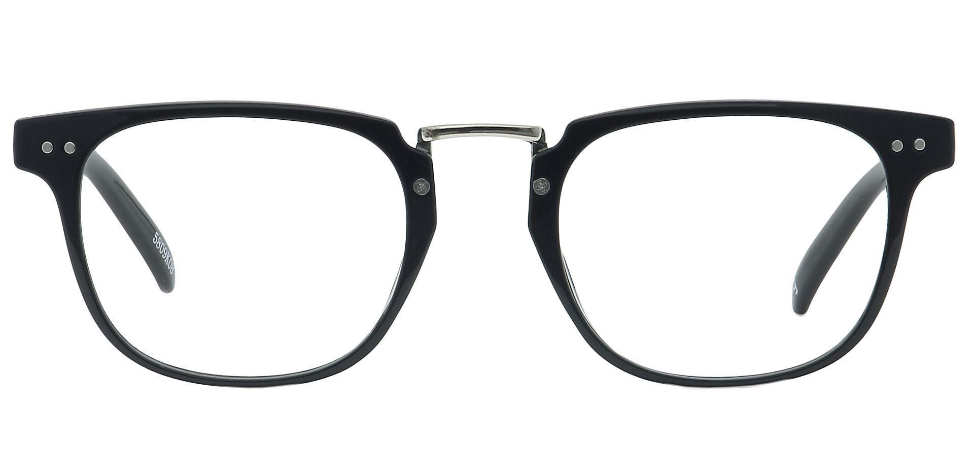Smithton Oval Prescription Glasses - Black