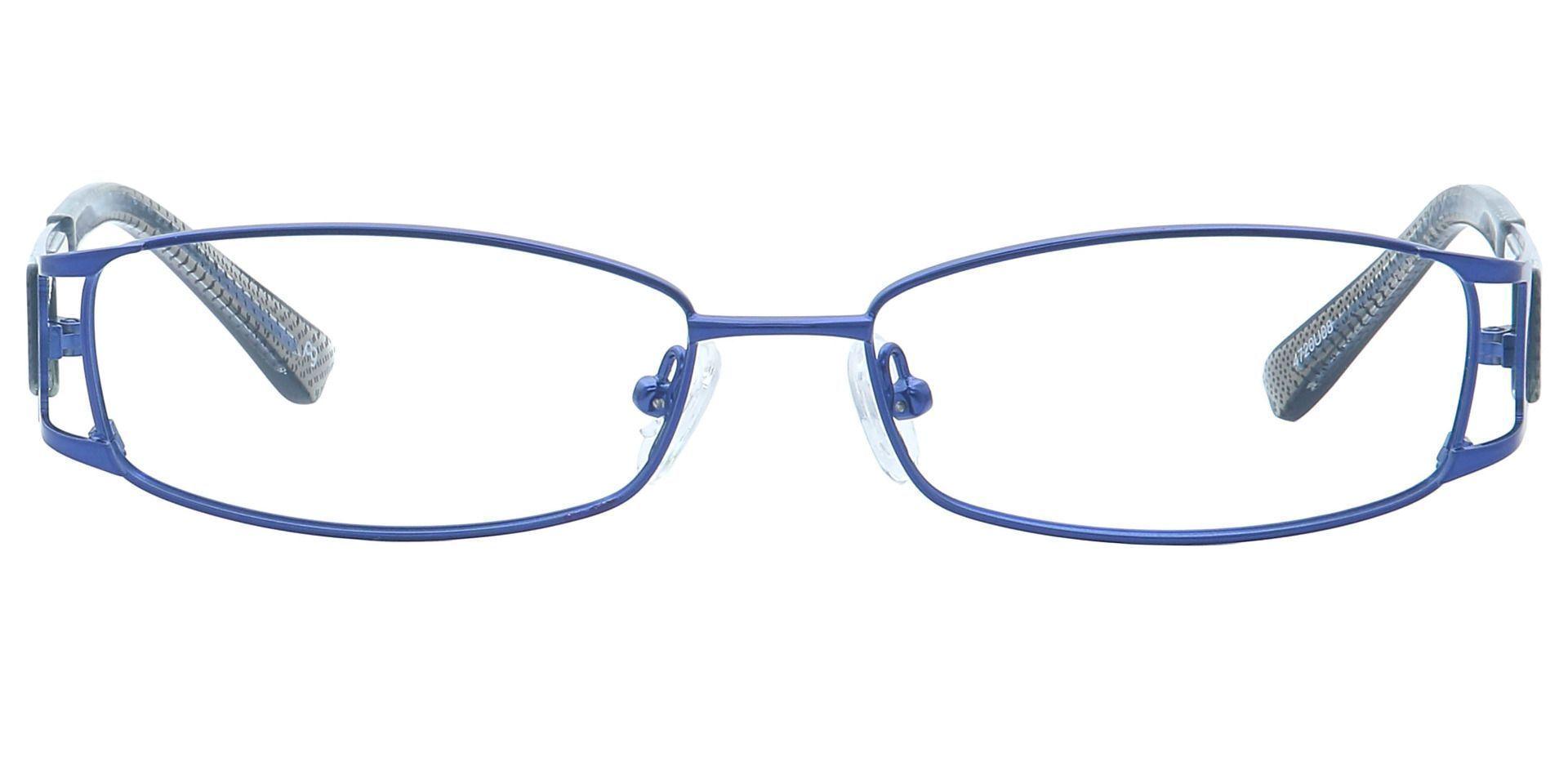 Cami Oval Eyeglasses Frame - Blue