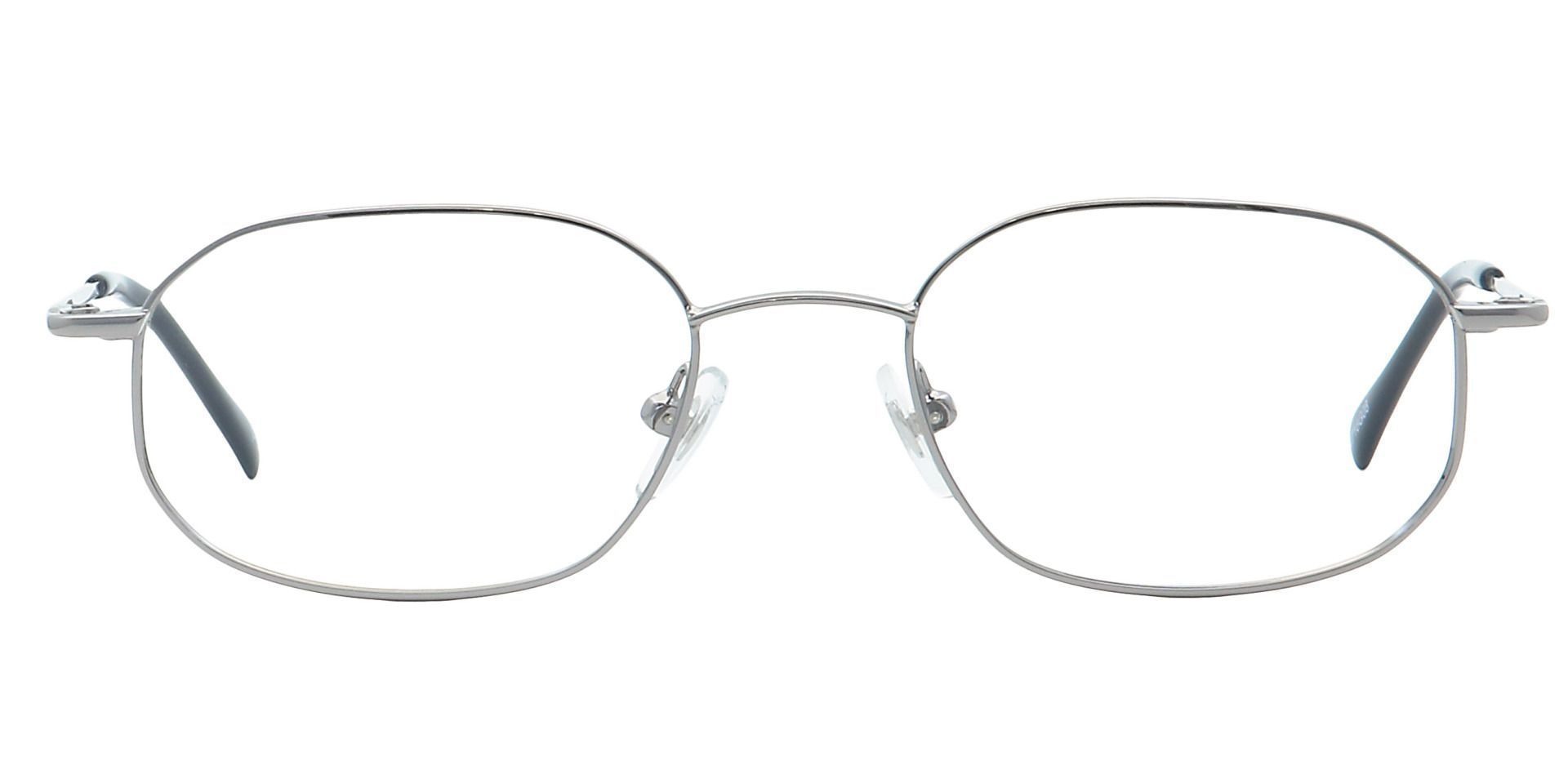 Parker Oval Non-Rx Glasses - Gray