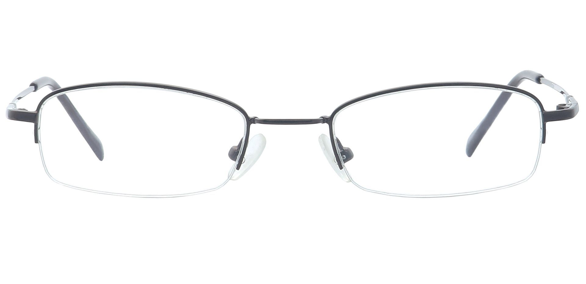 Lyndon Rectangle Single Vision Glasses - Brown