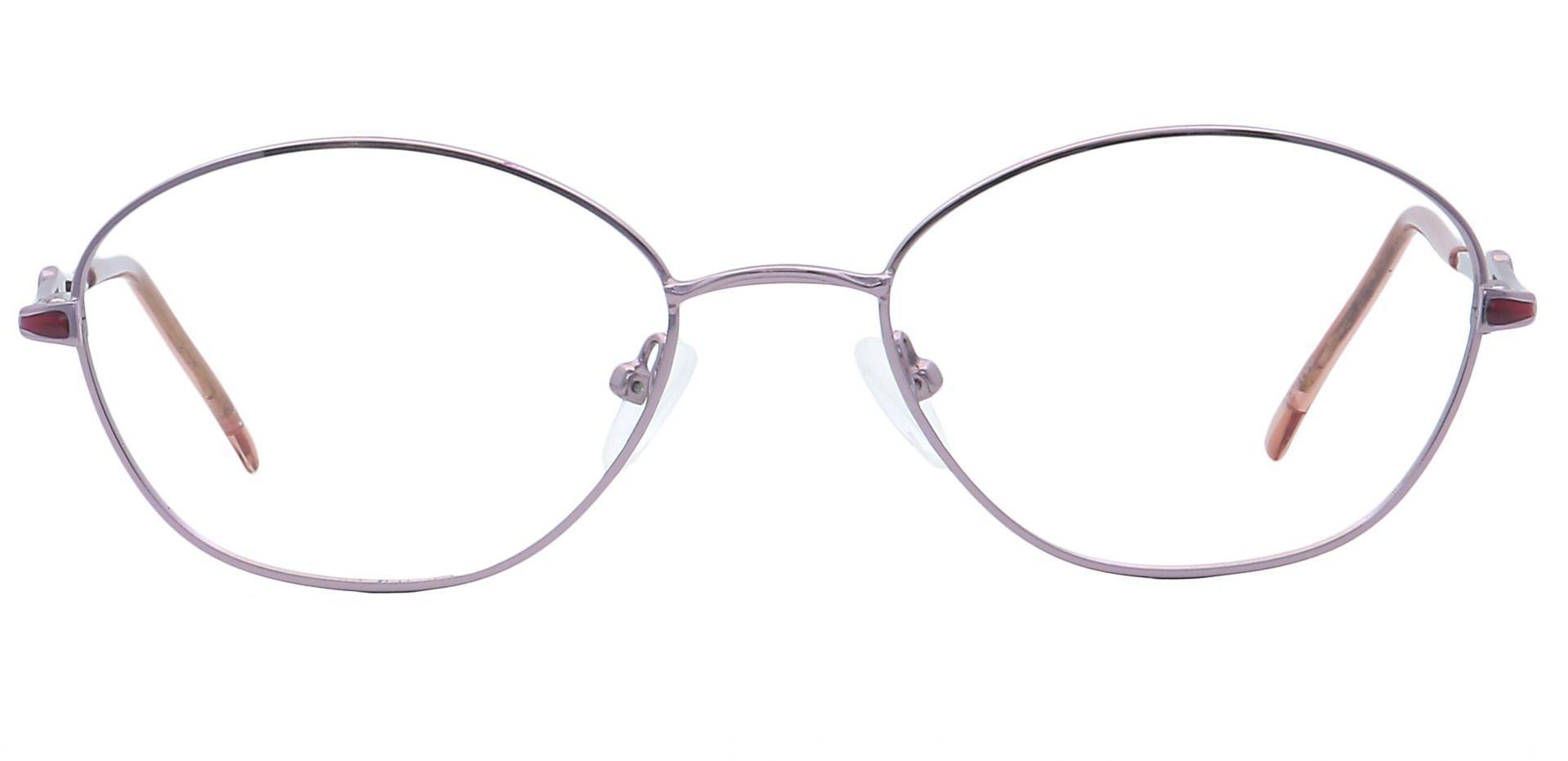 Emily Round Prescription Glasses - Yellow